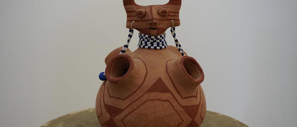 Maricopa Effigy Jar