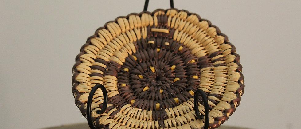 Navajo Miniature Coil Basket