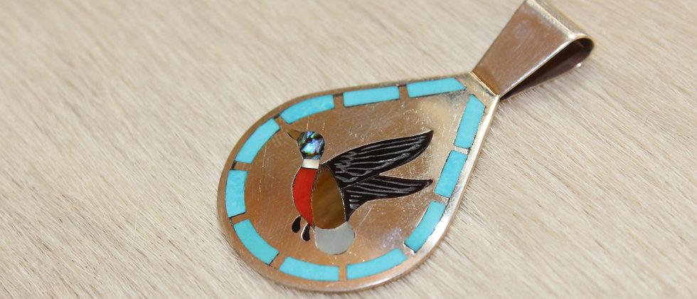 Zuni Inlay Pin