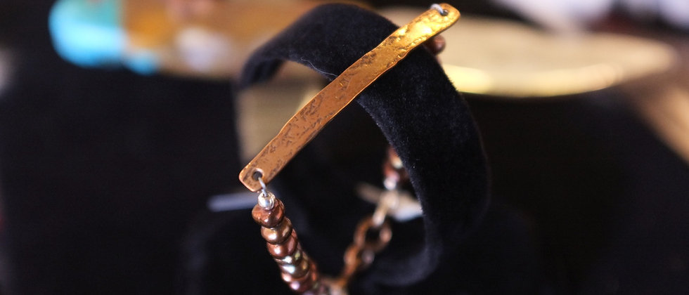 Tableau Chocolate Pearl Bracelet