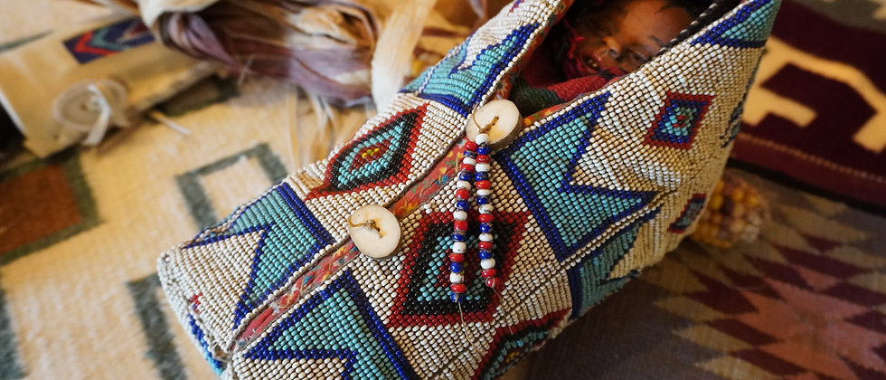 Sioux Beaded Cradleboard