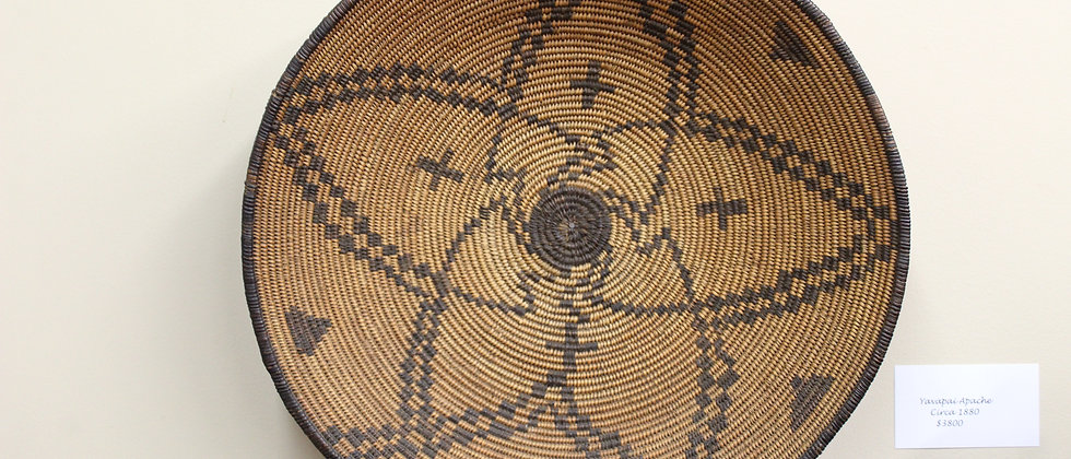 Old Yavapai Apache Tray