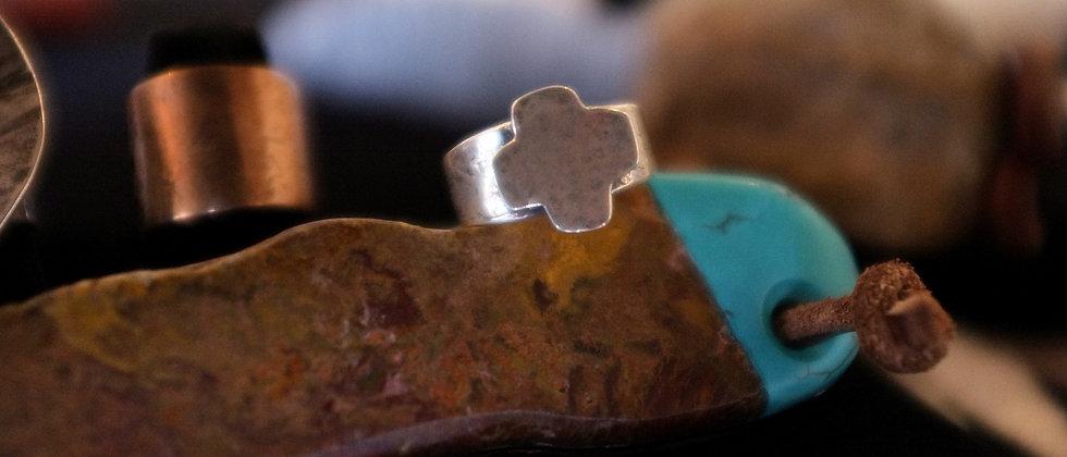 Small Cross Ring