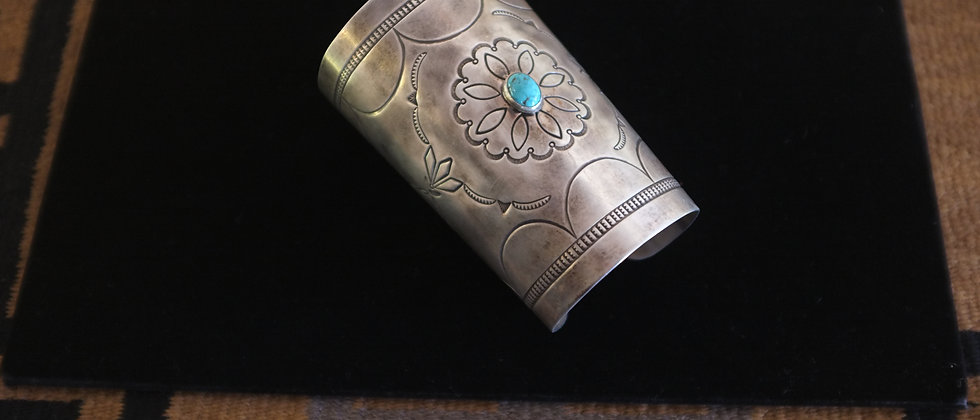 1960s Large Navajo Cuff Bracelet