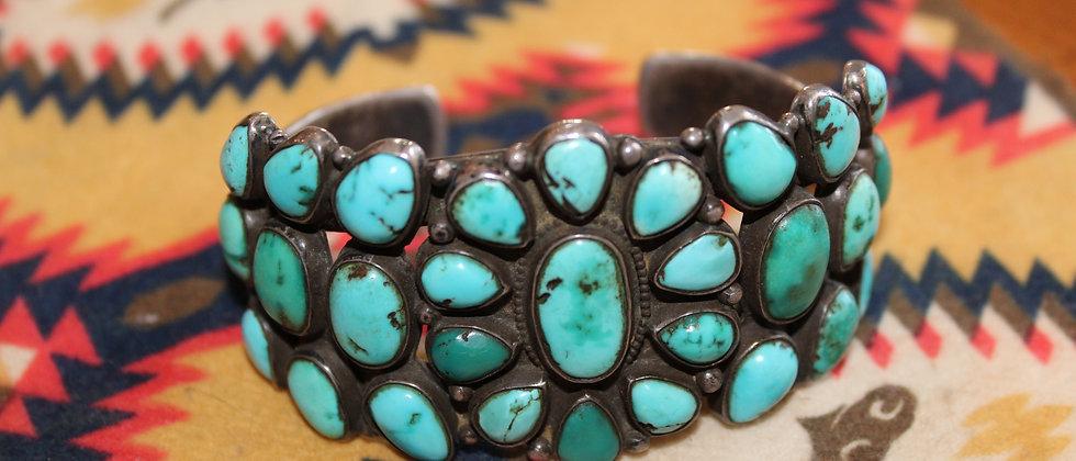 1910 Cluster Bracelet