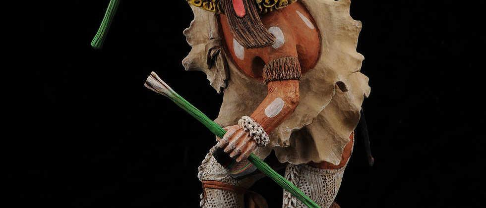 Whipper Kachina (Rare) by Loren Phillips