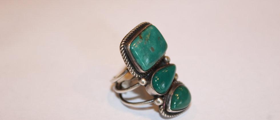 Cerillos Turquoise Ring