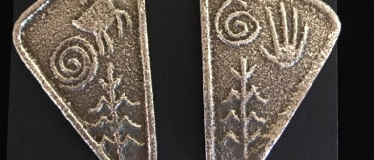 Tufa Cast Earrings