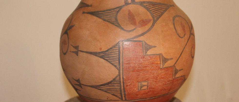 19 Century Zia Pueblo Pot