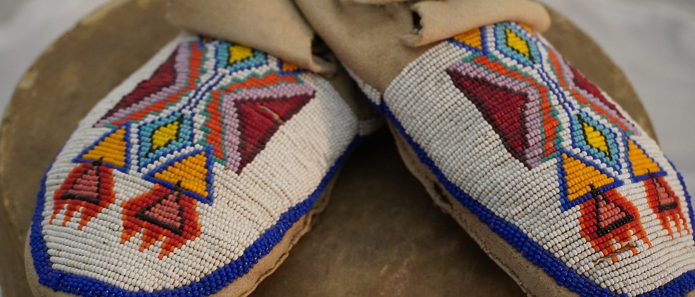 Rare Southern Ute Moccasins