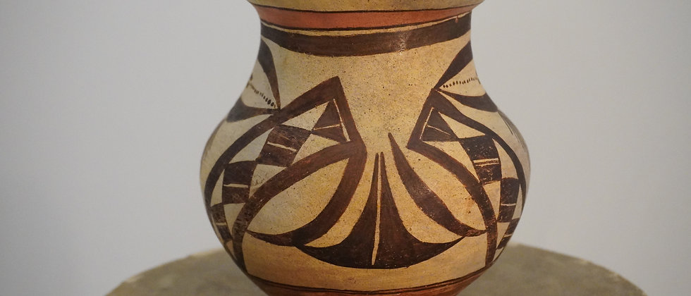 Laguna Pueblo Footed Jar