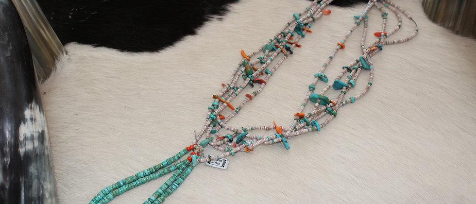 Pueblo Beads with Jaclas