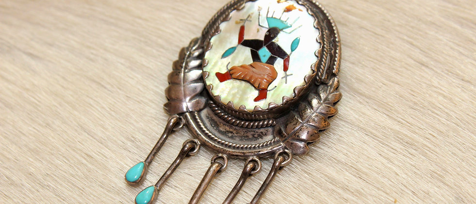 Apache Crown Dancer Pin/Pendant