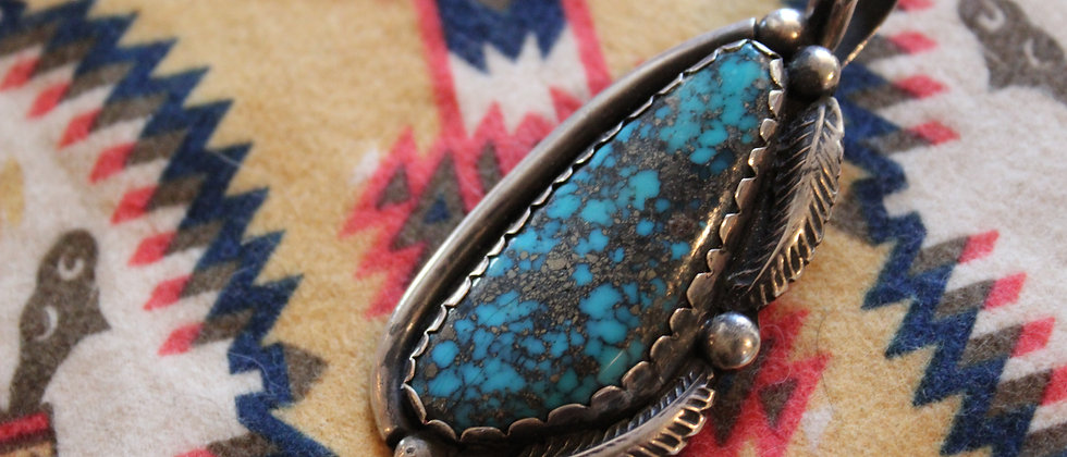 Morenci Turquoise Pendant