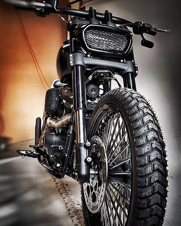 🔥T4 Motor-Cycles🔥_Project C.D FAT BOB
