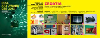 ESSL ART AWARD CEE 2013 The Museum of Contemporary Art Zagreb