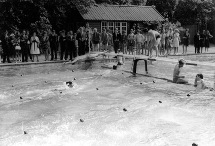 Swimming at Ducker, Harrow