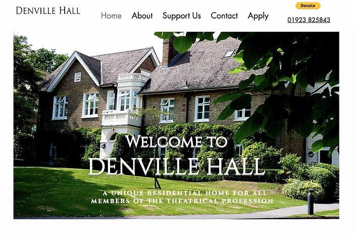 Denville Hall website