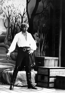 The Pirate King - Pirates of Penzance, Drury Lane, 1982