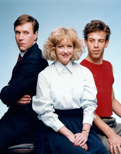 Square Deal publicity shot, with Lise-Ann McLaughlin and Brett Fancy