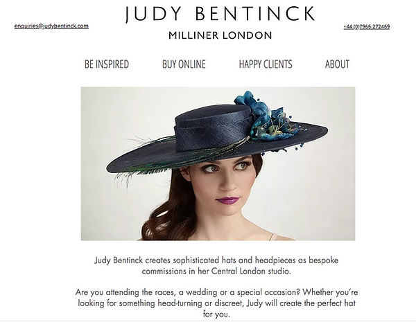 Judy Bentinck website