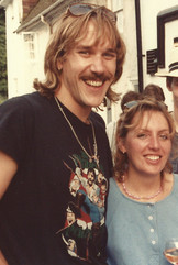 Me and Judy in 1982