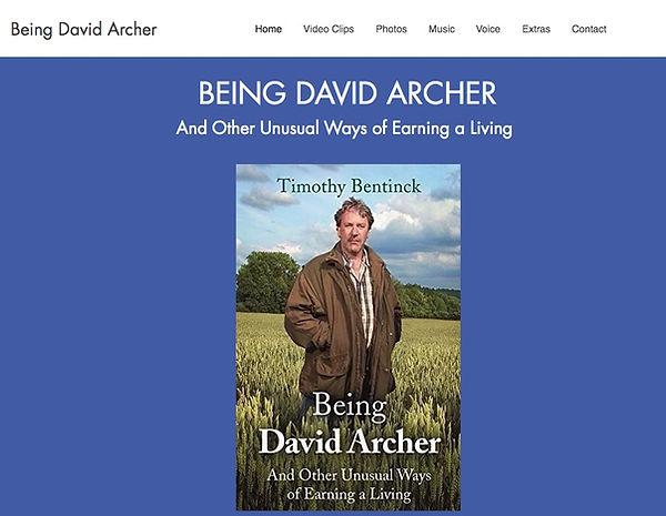 Being David Archer website