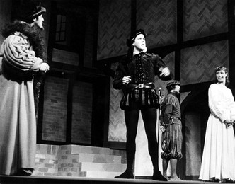 Playing Master Hammon in A Shoemaker's Holiday at the Bristol Old Vic