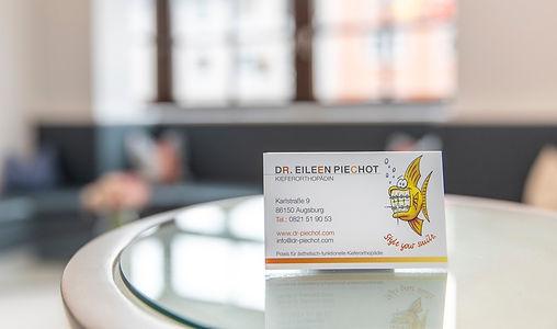 Dr. Piechot Visitenkarte