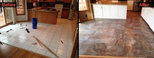 Kitchen Floor Remodel