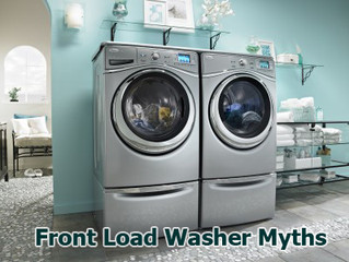 4 Front Load Laundry Myths