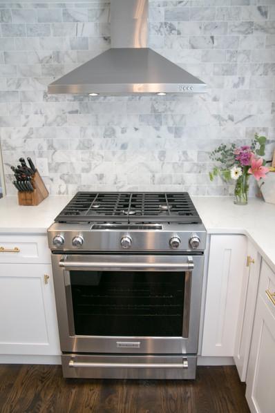 KitchenAid Range & Vent Installation