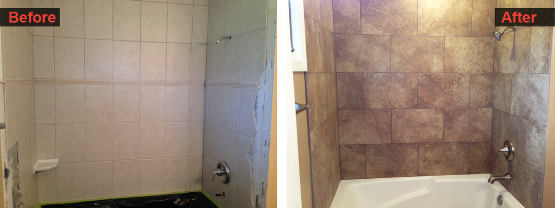 Shower and Tile Finish