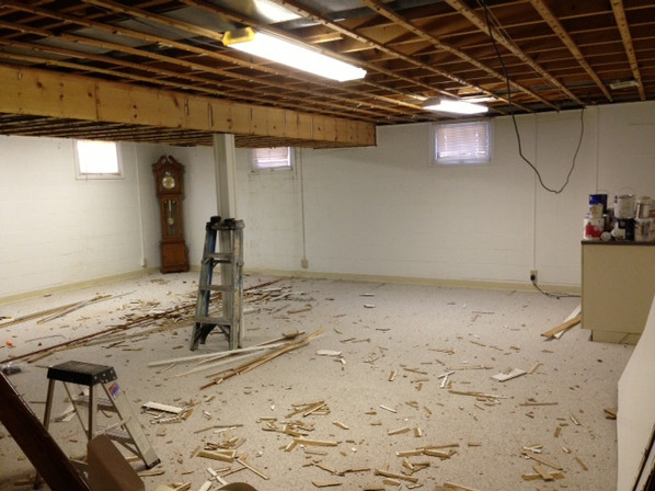 basement finishing & design