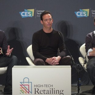 """Andrey Golub speaking at the Panel """"My Personal Shopper"""""""