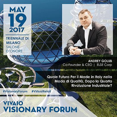Vivaio Visionary Forum Andry Golub