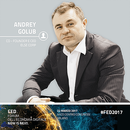 Andrey Golub Co-Founder and CEO ELSE Corp