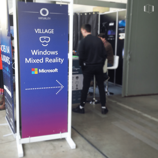 Windows Mixed Reality Village at AR/VR TechMeeting by Paris Region