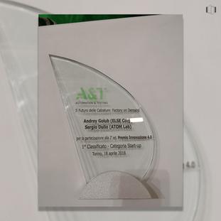 Innovation Award 4.0: the Winner is ELSE Corp
