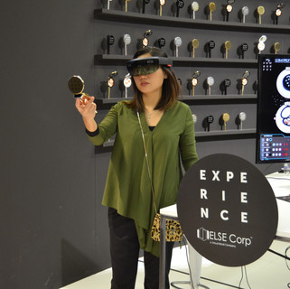 Mirei Ong at the MyPowderful experience at Cosmoprof