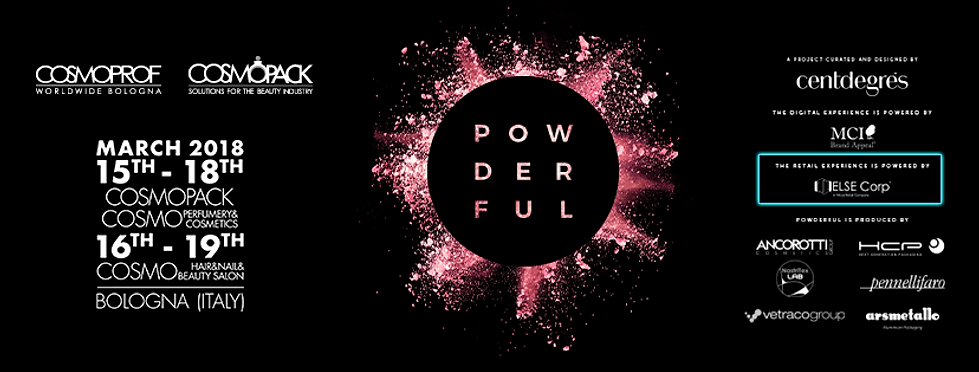 Banner Cosmoprof Powderful