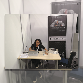 Taira Colah, Research Manager, at ELSE Corp's Stand