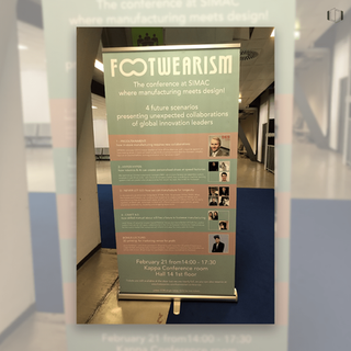 Footwearism, the Conference where manufacturing meets design!