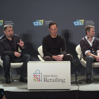 """""""My Personal Shopper"""" Panel at the High Tech Retailing Conference   CES 2019"""
