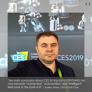 Andrey Golub & his main conclusion abot CES 2019