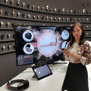 Alina Shagiakhmetova & the '3D Virtual Boutique' powered by E.L.S.E.