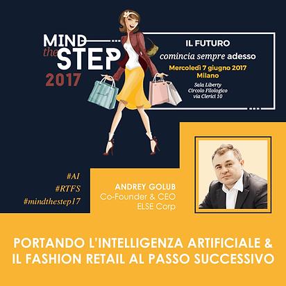 Min the Step 2017 Andrey Golub