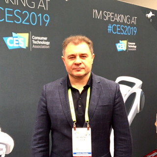 Andrey Golub, ELSE Corp's CEO at CES 2019