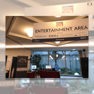 The Entertainment Area at the Forum Retail 2018