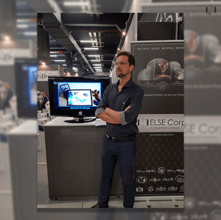 Rodrigo Paes, Product Manager, at ELSE Corp's stand